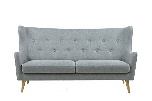 Actona Sofa Kamma in hellgrau