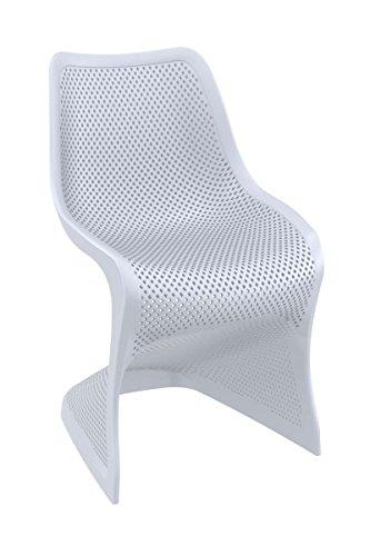 clp design kunststoff stuhl bloom stabiler gartenstuhl k chenstuhl freischwinger mit toller. Black Bedroom Furniture Sets. Home Design Ideas