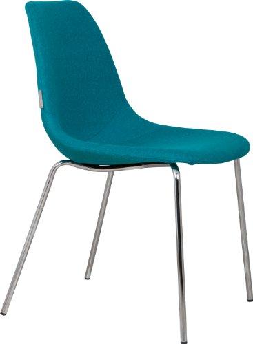 Fifteen Stuhl Blau 2er-Set