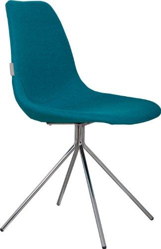 Fourteen Stuhl Blau 2er-Set