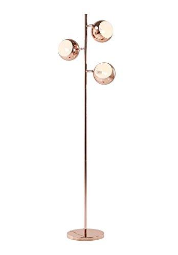 KARE Stehlampe Calotta Cooper Retro Kupfer