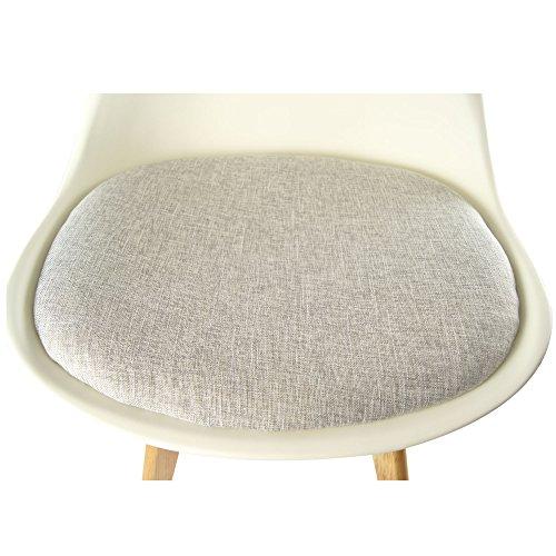 Mojo design stuhl esstischstuhl holz gestell in weiss wo for Esstischstuhl design