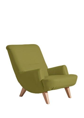 Max Winzer 2679-1100-2070103 Sessel Beverly, Einzelsessel, kunstleder grün