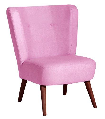 Max Winzer 2791-1100-1644483 Sessel Lara, Einzelsessel, Filzoptik pink