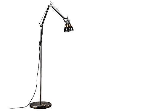 Retro Gelenk Metal Standleuchte Stehlampe Wohnzimmerlampe 175cm - SMD-Hightech-LEDs eine der sparsamsten Designer-Stehlampen der Welt
