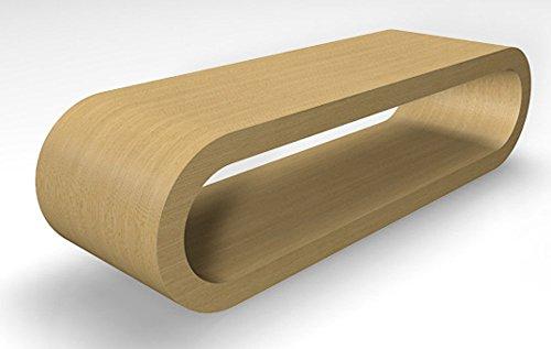 Retro-Stil Design-Reifen Großen Natürlichen Eiche Couchtisch / TV-Ständer 110 cm Breite