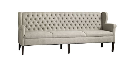 Sofabank Kingston 180 Espresso Massivholz B180 x H92 x T66 cm by Canett