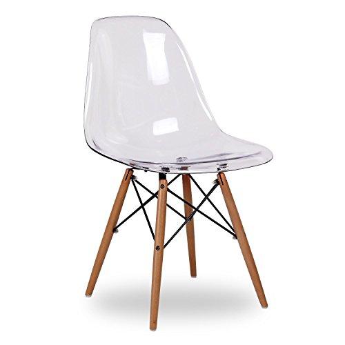 Supertrends Stuhl DSW Stil, transparent