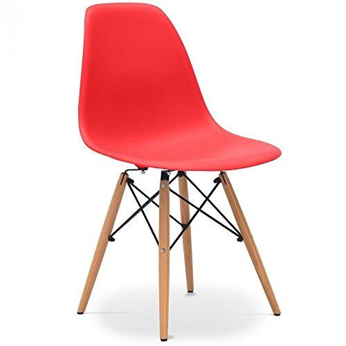 Stuhl DSW Stil - Rot