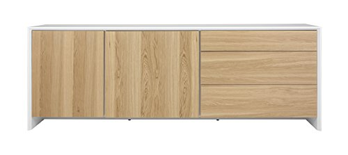 tenzo 5935 454 profil designer sideboard 80 x 220 x 47 cm. Black Bedroom Furniture Sets. Home Design Ideas