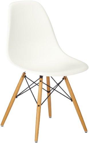 Vitra Eames Plastic Side Chair Dsw Untergestell Ahorn Gelblich