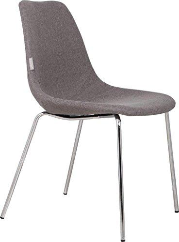 Zuiver Esszimmerstuhl FIFTEEN UP - 4 Farben lieferbar, Farbe:Grau