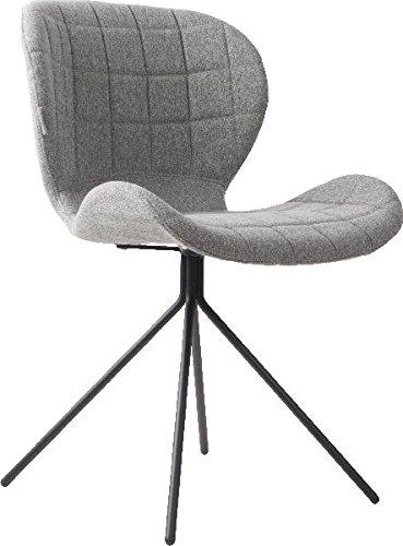 Zuiver Stuhl Esszimmerstuhl OMG hellgrau
