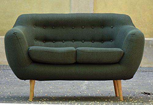 retro sofa indigo 2 sitzer stoff forest retro stuhl. Black Bedroom Furniture Sets. Home Design Ideas