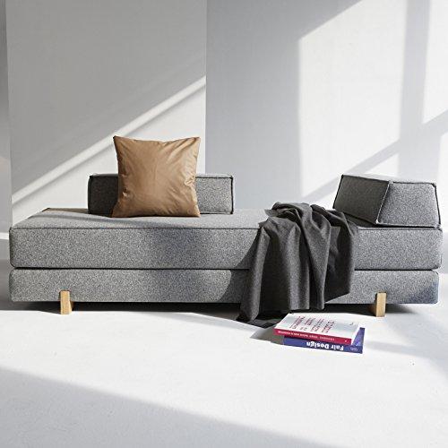 innovation schlafsofa db drip eiche idouble wood textil grau retro stuhl. Black Bedroom Furniture Sets. Home Design Ideas