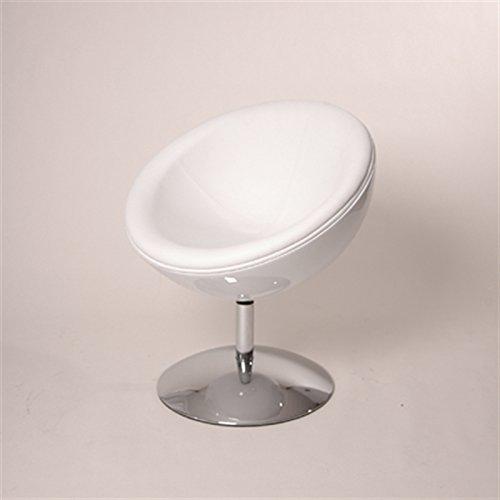 designer schalensessel retro m bel lounge cocktailsessel bequem gepolstert c13 wei wei retro. Black Bedroom Furniture Sets. Home Design Ideas