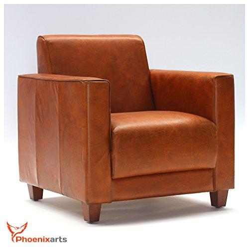 echtleder vintage sessel ledersessel design lounge clubsessel sofa retro loft m bel neu 541. Black Bedroom Furniture Sets. Home Design Ideas