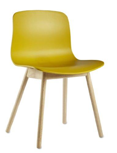 HAY - About a Chair AAC 12 - senfgelb - klar lackiert - Hee Welling and Hay - Design - Esszimmerstuhl - Speisezimmerstuhl