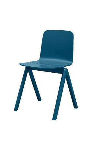 hay copenhague chair blau ronan erwan bouroullec design esszimmerstuhl. Black Bedroom Furniture Sets. Home Design Ideas