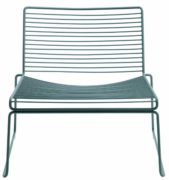 HAY Hee Lounge Chair - grey Hee Welling, Stahl pulverbeschichtet