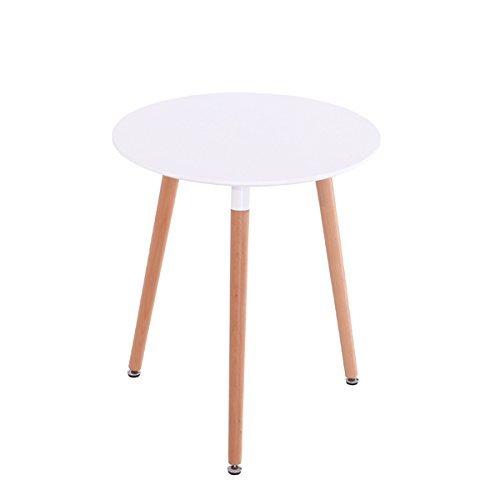 inspiration retro tisch mdf rund 80 cm durchmesser in wei retro stuhl. Black Bedroom Furniture Sets. Home Design Ideas