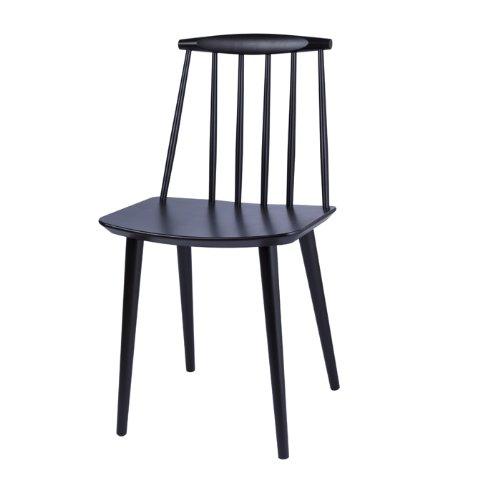 J77 Stuhl Schwarz HAY Design