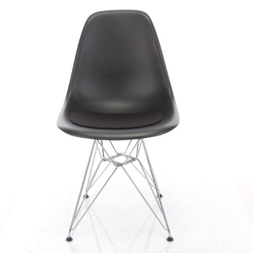 hey sign sitzaufl eames plastic sidechair v schwarz 02 retro stuhl. Black Bedroom Furniture Sets. Home Design Ideas