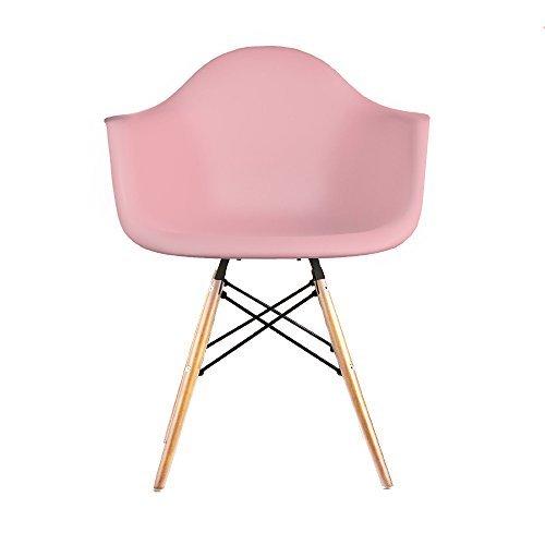 Verkauf 2 x design stuhl eiffel stil natural wood beine for Design stuhl eiffel
