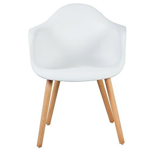 woltu bh37ws 2 esszimmerst hle 2er set esszimmerstuhl mit lehne design stuhl k chenstuhl holz. Black Bedroom Furniture Sets. Home Design Ideas