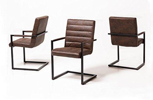2 Armlehnschwingstuhle Set Schwinger Stuhle