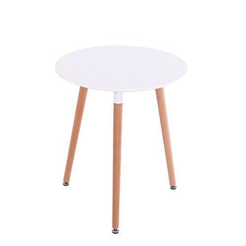 inspiration retro tisch mdf rund 60 cm durchmesser in wei retro stuhl. Black Bedroom Furniture Sets. Home Design Ideas