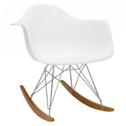 vitra 4401130004 stuhl rar eames plastic armchair gestell verchromt wei retro stuhl. Black Bedroom Furniture Sets. Home Design Ideas