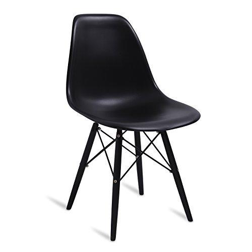 stuhl aus kunststoff dsw stil inspiriert von charles eames alle farbe 53 5 cm x 46 5 cm. Black Bedroom Furniture Sets. Home Design Ideas