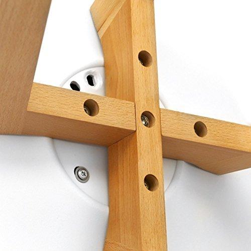 Stuhl Tulip inspiriert weiß 4 Stück
