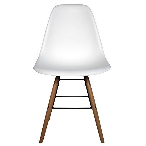 retro stuhl schalenstuhl pop art deco esszimmer st hle plastik regie vintage farbe wei menge. Black Bedroom Furniture Sets. Home Design Ideas