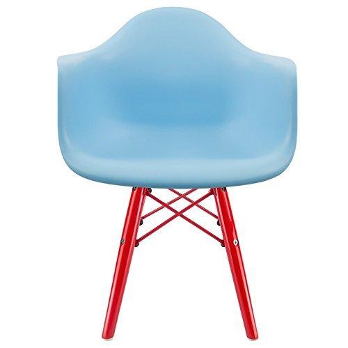 kid 39 s daw eames stuhl blau rot retro stuhl. Black Bedroom Furniture Sets. Home Design Ideas