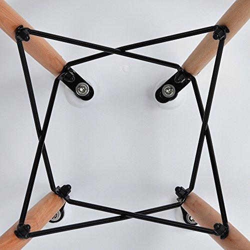 4x retro designerstuhl 4er esszimmerst hle mit armlehne k chenstuhl mit lehne 4 holz beinen. Black Bedroom Furniture Sets. Home Design Ideas