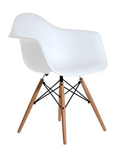 Aryana Home Sessel Replica Eames weiß