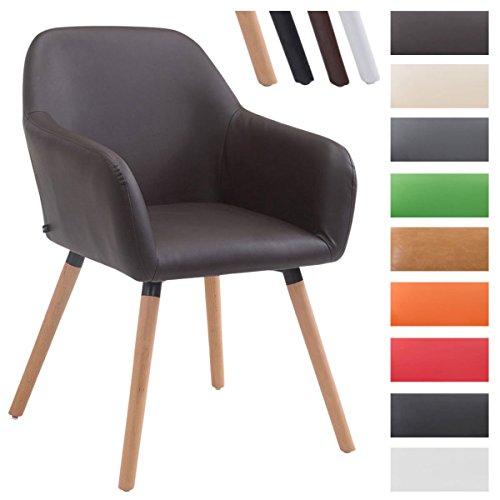 clp besucher stuhl achat v2 mit armlehne max belastbarkeit 150 kg holz gestell kunstleder. Black Bedroom Furniture Sets. Home Design Ideas