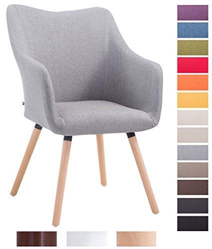 clp design besucher stuhl mccoy v2 mit armlehne stoff. Black Bedroom Furniture Sets. Home Design Ideas