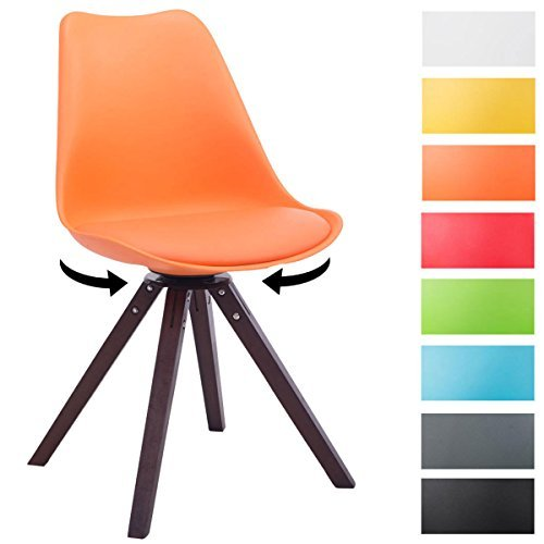 Retro st hle leder retro st hle g nstig online bestellen for Design stuhl orange