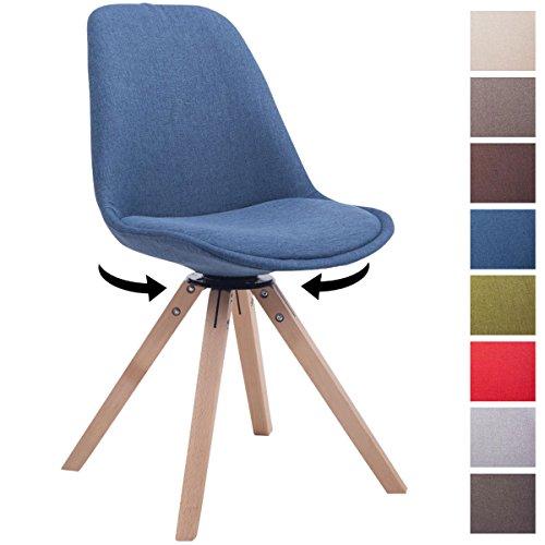 Clp design retro stuhl troyes square stoff sitz for Stuhl design 2017