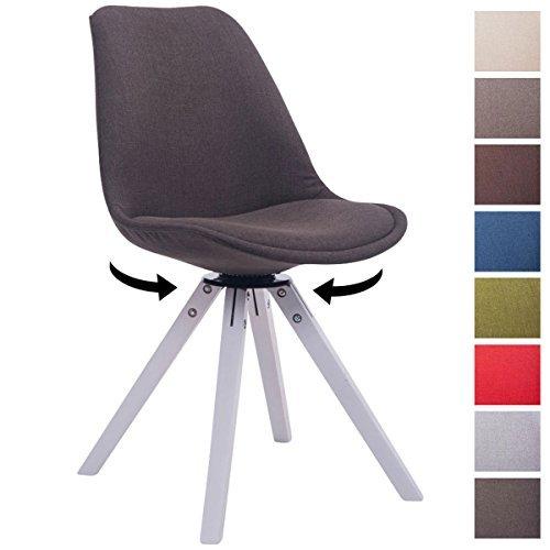 Clp design retro stuhl troyes square stoff sitz for Design stuhl form