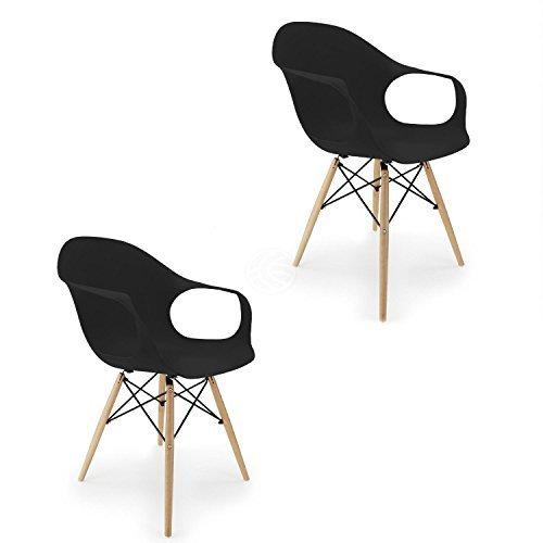 Außergewöhnlich Cablematic   Stuhl Eiffelturm Inspiriert Sessel In Schwarz .