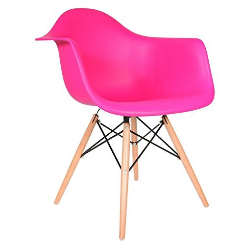 daw stuhl fuchsia natur retro stuhl. Black Bedroom Furniture Sets. Home Design Ideas