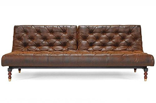 INNOVATION Living Sofa Bett Design Old School Vintage Convertible 210 * 115 cm