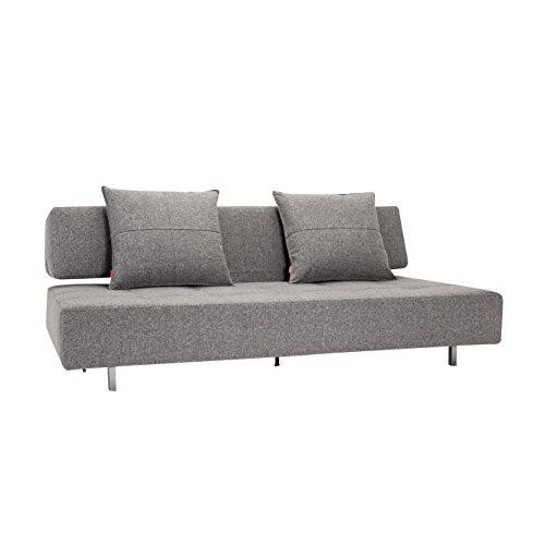 innovation long horn excess klappsofa dunkelgrau stoff bezug dess auflage stoff 565 granit. Black Bedroom Furniture Sets. Home Design Ideas