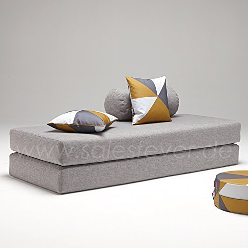 innovation schlafsofa dulox grau retro stuhl. Black Bedroom Furniture Sets. Home Design Ideas
