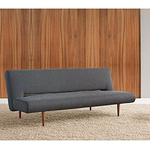 innovation schlafsofa unfurl in schwarz nist 514 retro stuhl. Black Bedroom Furniture Sets. Home Design Ideas