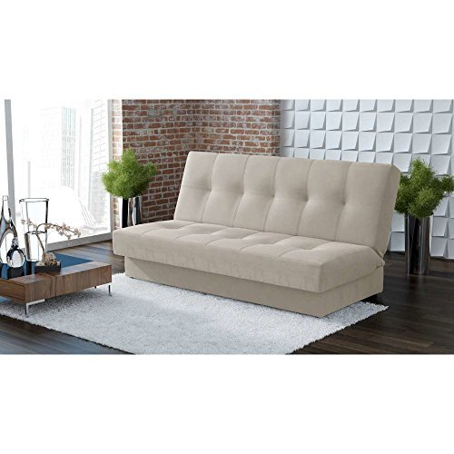 justhome caro einzelsofa sofa schlafsofa stoffbezug bxlxh 94x200x90 cm gro e farbauswahl. Black Bedroom Furniture Sets. Home Design Ideas